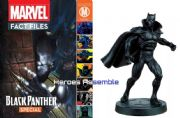 Marvel Fact Files Black Panther Special With Figurine Eaglemoss